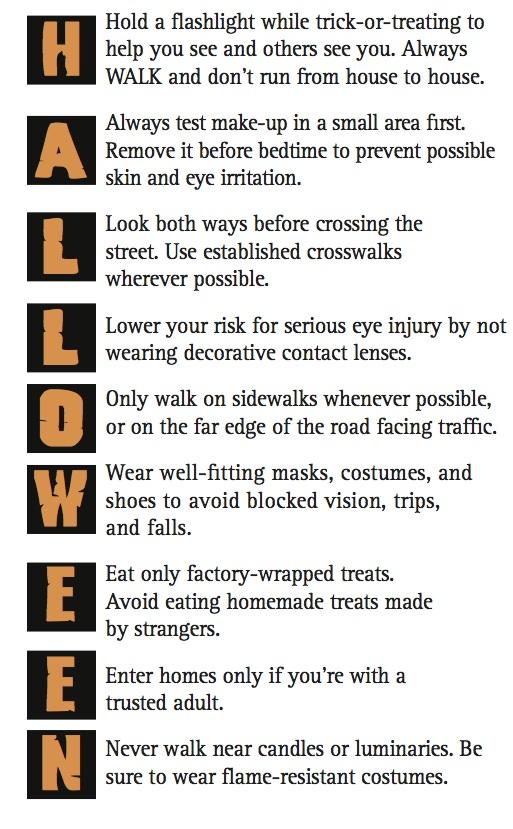 Halloween Safety Tips | Martial Arts Ottawa