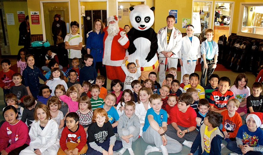 Kids Karate Christmas Party Was A Kick N Good Time Photos