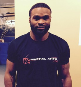 "UFC Superstar Tyron ""The Chosen One"" Woodley"